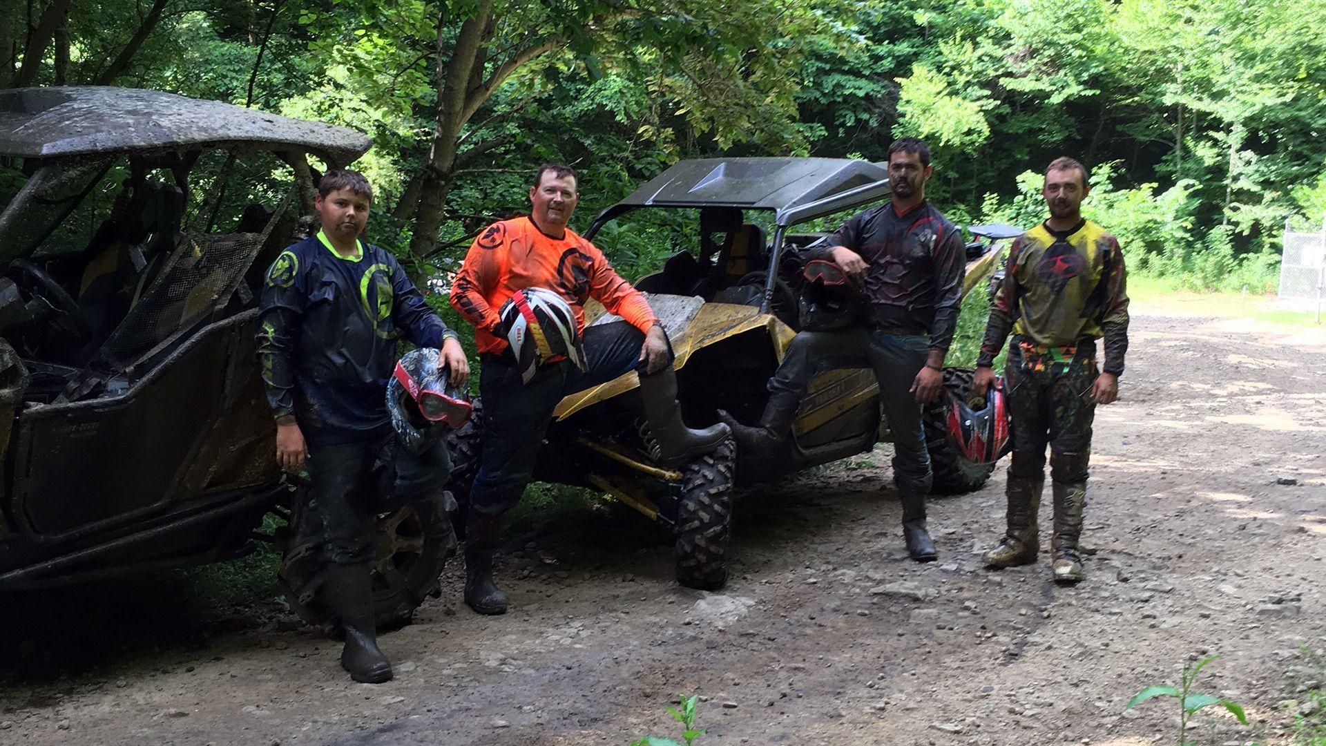 ATV Trail Hocking Hills
